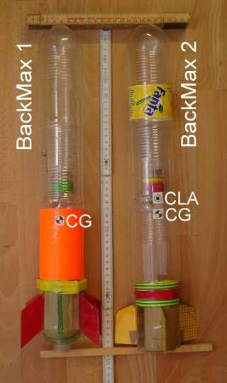 Rockets BackMax1 and 2